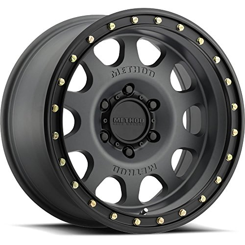 Method Race Wheels MR31178560800 Vex Titanium/Black Street Lock Wheel (17x8.5