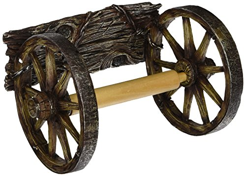 (Wall Mounted Wagon Wheel Toilet Paper Holder)