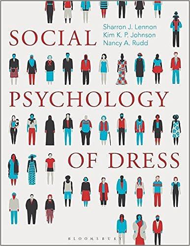 Social Psychology Of Dress Sharron J Lennon Kim K P