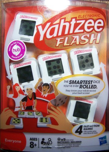 Yahtzee Electronic Flash Cubes - The Smartest Dice You'ce Ever Rolled