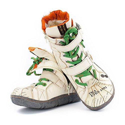 Donna Snow Crema Tma Bianco Boots Tama RTZawfZ