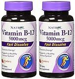 Cheap Natrol Vitamin B-12 Fast Dissolve Tablets, 5000 mcg, Strawberry, 2 Count