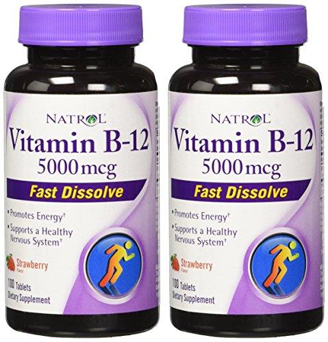 Natrol Vitamin Dissolve Tablets Strawberry