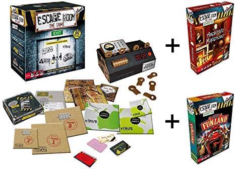 Outletdelocio. Juego Escape Room Diset 62304 + 2 Expansiones. Edicion Española: Amazon.es: Juguetes y juegos