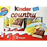 Kinder Country Milk Chocolate with Rich Milk Filling ( 9's )