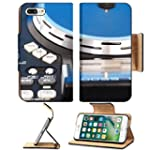 Liili Premium Apple iPhone 7 Plus Flip Pu Leather Wallet Case iPhone7 Plus Closeup detail of a DJ turntable and knobs on the deck for mixing music Photo 16132813 Simple Snap Carrying