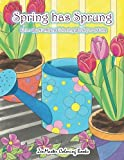 #8: Adult Color By Numbers Coloring Book of Spring: A Spring Color By Number Coloring Book for Adults with Spring Scenes, Butterflies, Flowers, Nature, ... Color By Number Coloring Books) (Volume 31)