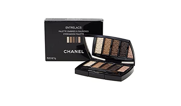 Chanel Entrelacs Palette 5 Ombres À Paupières 6 Gr - Sombra de ojos, 6 gr: Amazon.es: Belleza