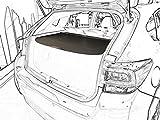 Kaungka Cargo Cover For 2017 2018 Subaru Impreza hatchbacks Retractable Trunk Shielding Shade(Black)