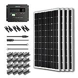 Renogy 400 Watt 12 Volt Monocrystalline Solar Starter Kit with Wanderer Picture