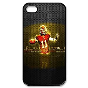 iphone 4/4s Covers Hard Back Protective-Cute NFL Washington Redskins Football Sports Case Perfect as Christmas gift(5)