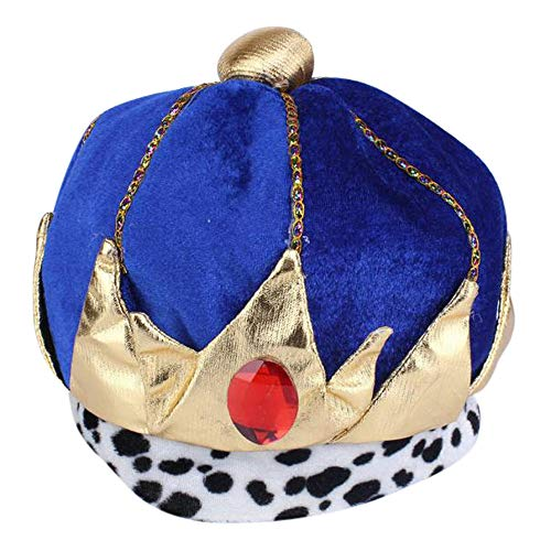 UOKNICE Halloween Child Toddler Pharaoh Prince Hat for Costume Accessory Cosplay Cap]()