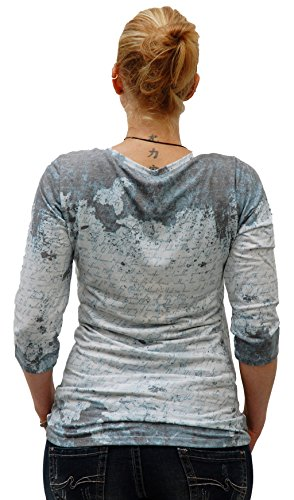 Key Largo, Damen-Shirt, 3/4 Arm, State