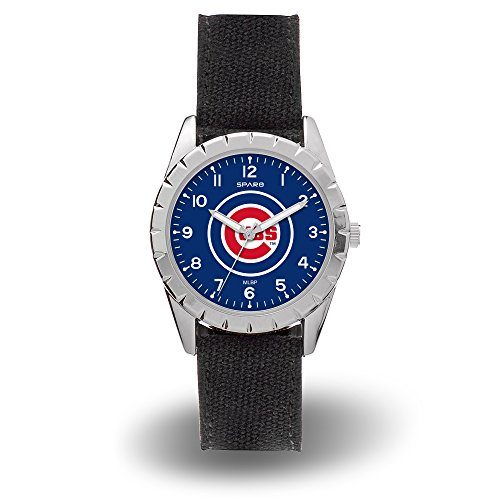 Chicago Cubs Logo Crystal - Chicago Cubs MLB Nickel Woman/Youth Size Sports Watch