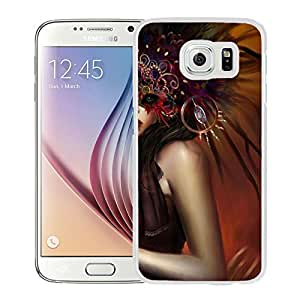 Beautiful And Unique Designed With Girl Mask Eye Dress (2) For Samsung Galaxy S6 Phone Case