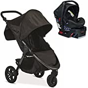 Britax B-Free Stroller & B-Safe Midnight Travel System Set