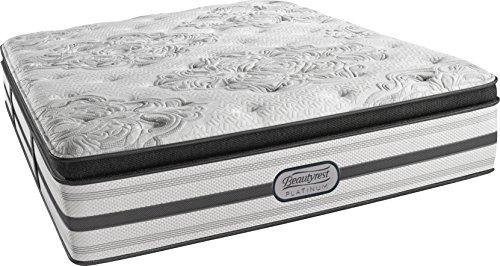King Beautyrest - Beautyrest Platinum Luxury Firm Pillow Top Ledger, King Innerspring Mattress