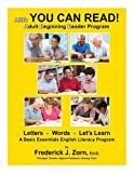 adult education programs - ABR: You Can Read! Adult Beginning Reader Program