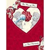 Mum and Dad Anniversary Me to You Bear Card