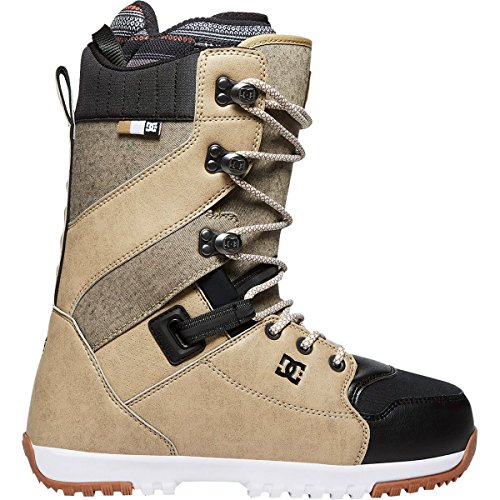 DC Men's Mutiny Lace Snowboard Boots, 12, (Brown Mens Snowboard Boots)
