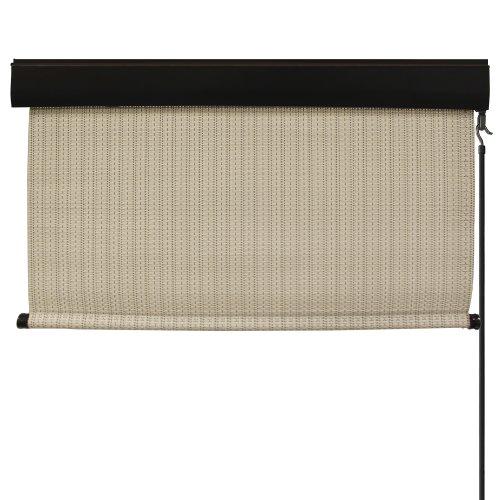 Keystone Fabrics Premium Outdoor Sun Shade, Cordless, 6-Feet by 8-Feet, Tropic Bahama (Patio Arizona Shades Sun)