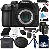 Panasonic DMC-GH4 Digital Camera + Sandisk 32GB ULTRA SDHC Memory Card + DMW-BLF19 Lithium Ion Battery + Rode VideoMic with Rycote Lyre Suspension System BUNDLE- International Version (No Warranty)