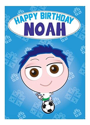 Cupcake Crew Birthday Cards Carte Danniversaire Noah Amazonfr