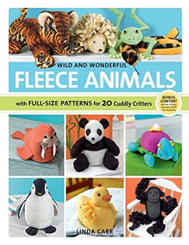 fleece sewing book - 2