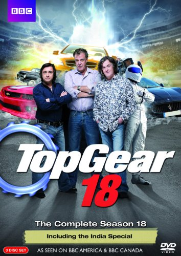 Top Gear: Complete Season 18 (Best Top Gear Adventures)
