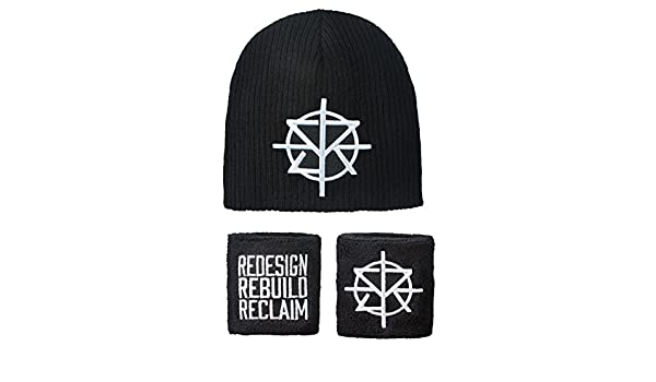 buy popular 8e416 97b65 ... purchase seth rollins redesign rebuild reclaim wwe authentic knit hat  wristband set at amazon mens clothing