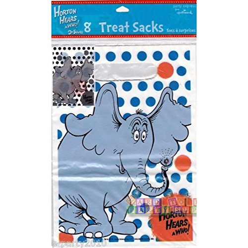 Horton Hears a Who Favor Bags (8ct) by Hallmark