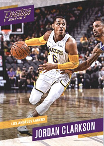 a1cfa9289 Amazon.com  2017-18 Panini Prestige Basketball  67 Jordan Clarkson Lakers   Collectibles   Fine Art