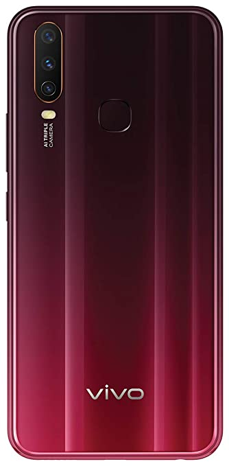 Vivo Y12 Burgundy Red 3gb Ram 64gb Storage With No Cost Emi Additional Exchange Offers