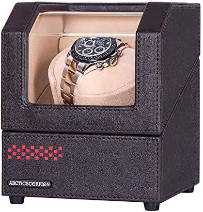 [スポンサー プロダクト]ワインディングマシーン 腕時計自動巻き器 ウォッチワインダー1本巻き 時計 ワインディング 静音設計 【12ヶ月の保証期間付】