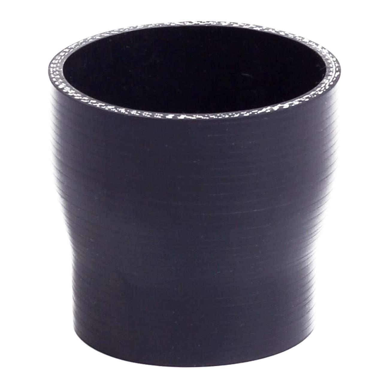 ZaZaTool 3 to 3.75 76-95 mm Straight Silicone Hose Reducer Turbo Coupler Black