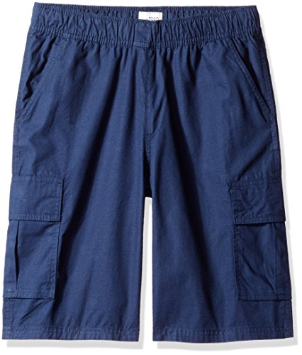 The Children's Place Big Boys Size Pull-on Cargo Shorts, Tidal, 6 Slim