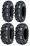 Full set of Sedona Mud Rebel 27x10-14 and 27x12-14 ATV Ti...