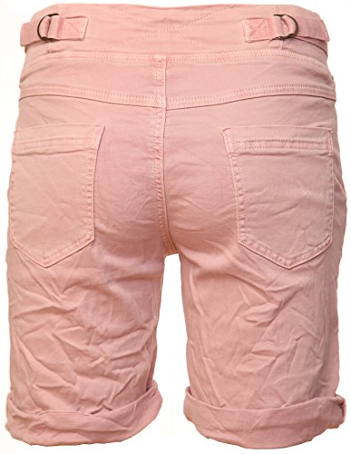 de Cotton stretch Basic shorts Bermuda Rosa gdxwwvqC