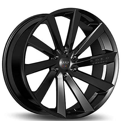 Amazon Com 20 Inch Rims Gloss Black Koko Kuture Kapan