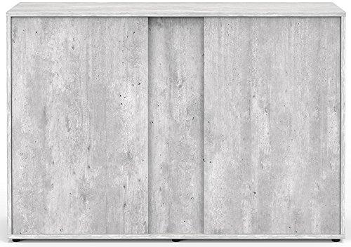 Mueble para Acuario Expert 120Beton cera Aquatlantis