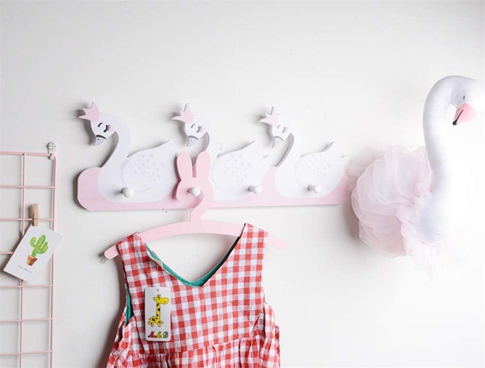 Waldtiere Junge M/ädchen MAICHIHUOY Kindergarderobe mit 4 Haken Wandgarderobe Kleiderhaken Wandhaken Kinderm/öbel Garderobenhaken