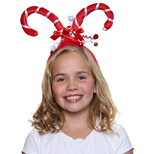 Crazy Candy Cane Headband (Candy Cane Headband)