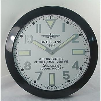 Amazon Com Breitling Luminous Silent Sweep Wall Clock