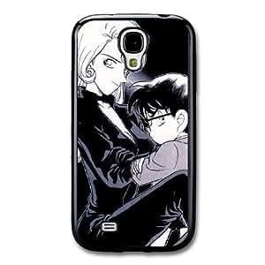 Detective Conan E6L5JV2J Caso funda Samsung Galaxy S4 Caso funda Negro