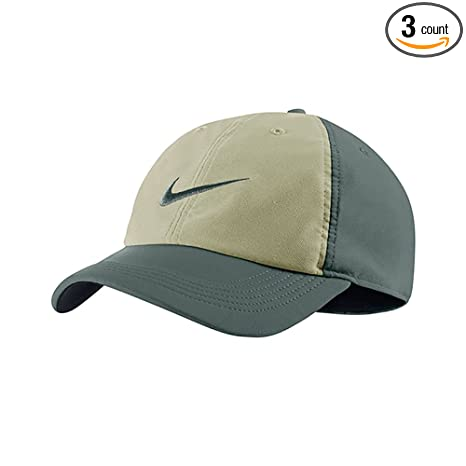 7393fb8d0b40 Amazon.com  NIKE Men`s Twill H86 Adjustable Training Hat  Sports   Outdoors