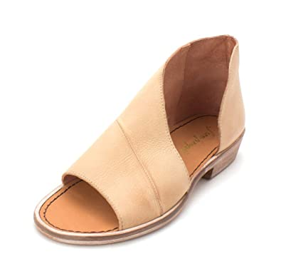 cffd4e0aa85a Free People Mont Blanc Sandal Flat Sandals Open Toe Natural (37.5)