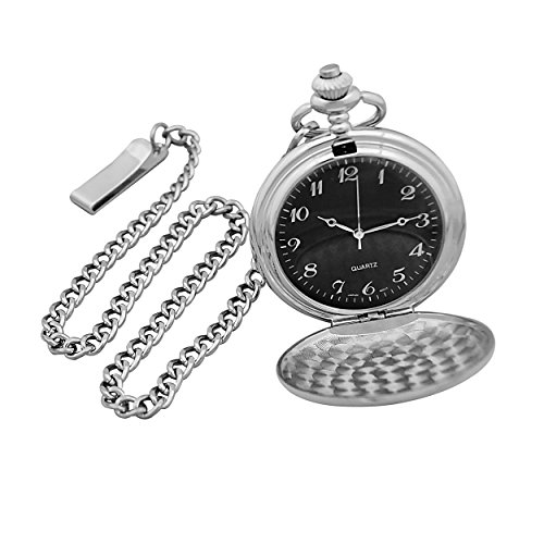 Cathy's Concepts Silver-Plated Pocket Watch