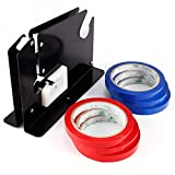 plastic bag tape sealer - Supermarket Metal 12mm Tape bag neck sealer Trimming Blade Plastic Bag Neck Sealer & 6 Rolls Perfect for mall supermarket and shop bag neck sealing usage.