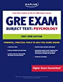 Kaplan GRE Exam Subject Test: Psychology, Kaplan, 1419551426