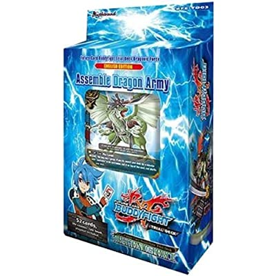 Future Card Buddyfight Dragonic Force Deck: Toys & Games